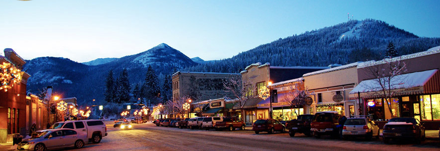 Our mountain town - Rossland, BC