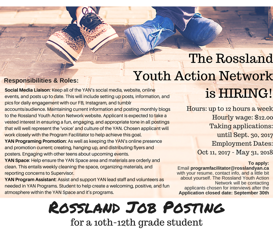 role responsibilities of youth for